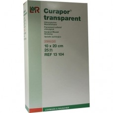 CURAPOR Wundverband steril transparent 10x20 cm 25 St