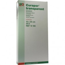 CURAPOR Wundverband steril transparent 10x25 cm 25 St