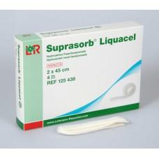 SUPRASORB Liquacel hydroakt.Faserverb.2x45 cm 4 St
