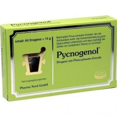 PYCNOGENOL KIEFERNRINDENEXTRAKT Pharma Nord Drag. 60 St