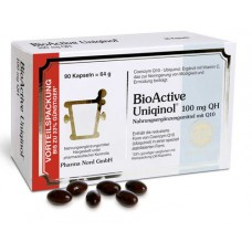 BIOACTIVE Uniqinol 100 mg QH Pharma Nord Kapseln 90 St