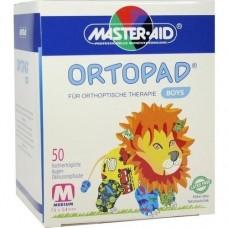 ORTOPAD for boys medium Augenokklusionspflaster 50 St