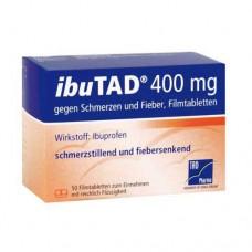 IBUTAD 400 mg gegen Schmerzen und Fieber Filmtabl. 50 St
