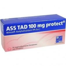 ASS TAD 100 mg protect magensaftres.Filmtabletten 50 St