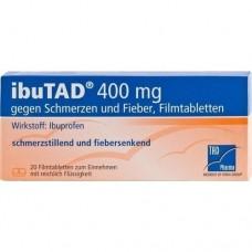 IBUTAD 400 mg gegen Schmerzen und Fieber Filmtabl. 20 St