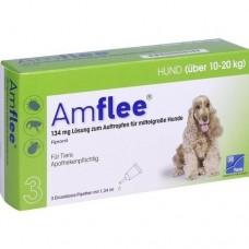AMFLEE 134 mg Spot-on Lsg.f.mittelgr.Hunde 10-20kg 3 St
