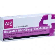 IBUPROFEN AbZ 200 mg Filmtabletten 10 St
