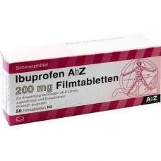 IBUPROFEN AbZ 200 mg Filmtabletten 50 St