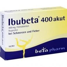 IBUBETA 400 akut Filmtabletten 10 St