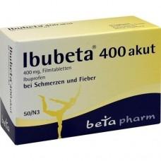 IBUBETA 400 akut Filmtabletten 50 St