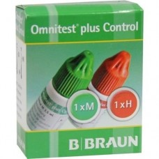 OMNITEST Plus Control Lösung 2X3 ml