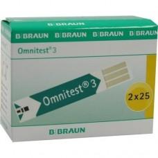 OMNITEST 3 Blutzucker Sensoren Teststreifen 2X25 St