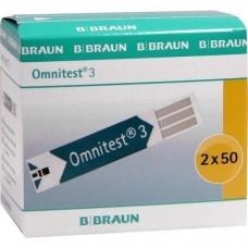 OMNITEST 3 Blutzucker Sensoren Teststreifen 2X50 St