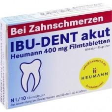 IBU DENT akut Heumann 400 mg Filmtabletten 10 St