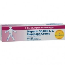 HEPARIN 30.000 Heumann Creme 40 g