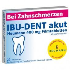 IBU DENT akut Heumann 400 mg Filmtabletten 20 St