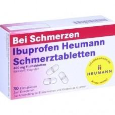 IBUPROFEN Heumann Schmerztabletten 400 mg 30 St