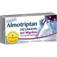 ALMOTRIPTAN Heumann bei Migräne 12,5 mg Filmtabl. 2 St