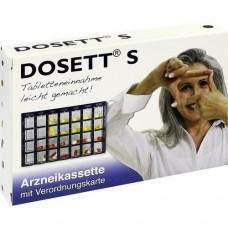 DOSETT S Arzneikassette blau 1 St