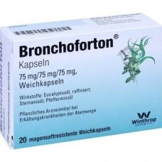 BRONCHOFORTON magensaftresistente Kapseln 20 St