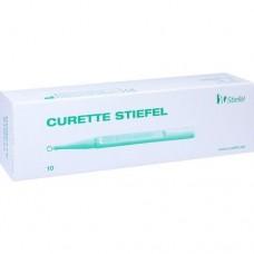 CURETTE Stiefel 4mm 10 St