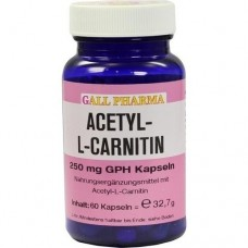 ACETYL-L-CARNITIN 250 mg Kapseln 60 St