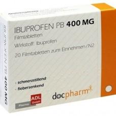 IBUPROFEN PB 400 mg Filmtabletten 20 St