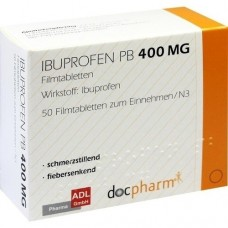 IBUPROFEN PB 400 mg Filmtabletten 50 St