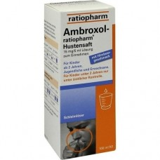 AMBROXOL ratiopharm Hustensaft 100 ml