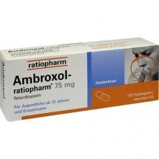 AMBROXOL ratiopharm 75 mg Hustenlöser Retardkaps. 100 St