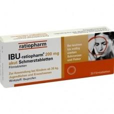 IBU RATIOPHARM 200 mg akut Schmerztbl.Filmtabl. 20 St