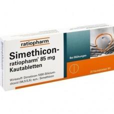 SIMETHICON ratiopharm 85 mg Kautabletten 20 St