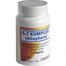 A-Z KOMPLEX ratiopharm Tabletten 100 St