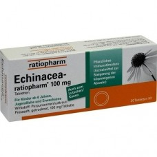 ECHINACEA RATIOPHARM 100 mg Tabletten 20 St