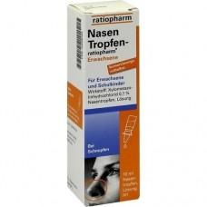 NASENTROPFEN ratiopharm Erwachs.Konservier.frei 10 ml