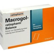 MACROGOL ratiopharm Balance Plv.z.H.e.L.z.Einn. 10 St