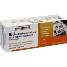 IBU RATIOPHARM 400 mg akut Schmerztbl.Filmtabl. 50 St