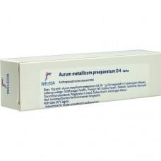 AURUM METALLICUM PRAEPARATUM D 4 Salbe 25 g