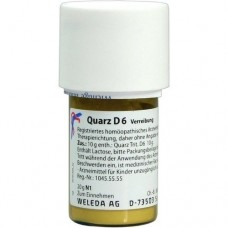 QUARZ D 6 Trituration 20 g