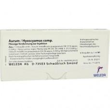 AURUM/HYOSCYAMUS comp.Ampullen 8X1 ml