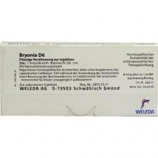 BRYONIA D 6 Ampullen 8X1 ml