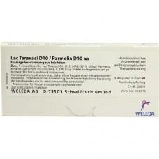 LAC TARAXACI D10/ PARMELIA D10 aa Ampullen 8X1 ml