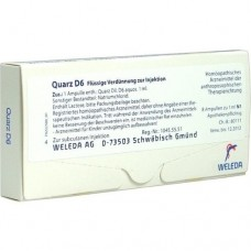 QUARZ D 6 Ampullen 8X1 ml