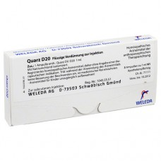 QUARZ D 20 Ampullen 8X1 ml