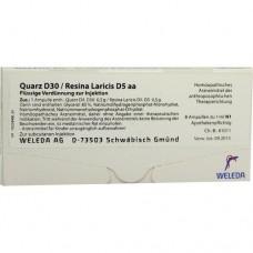 QUARZ D 30/Resina Laricis D 5 aa Ampullen 8X1 ml