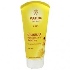 WELEDA Calendula Waschlotion & Shampoo 200 ml
