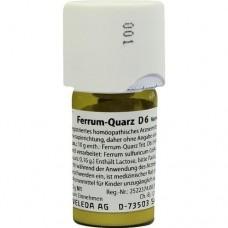 FERRUM QUARZ D 6 Trituration 20 g