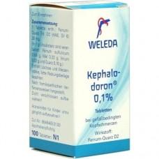 KEPHALODORON 0,1% Tabletten 100 St