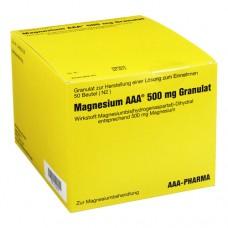MAGNESIUM AAA 500 mg Granulat 50 St