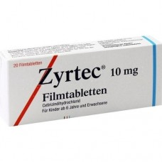 ZYRTEC Filmtabletten 20 St